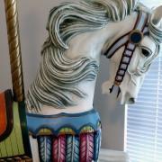 Pivarel-repro-Carmel-carousel-horse-bust
