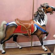 Waldameer-amusement-park-Muller-carousel-horse