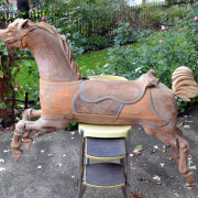 1911-Parker-carousel-project-horse-jumper-non-romance