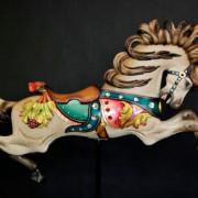 C-W-Parker-Lillie-Belle-carousel-horse-Lise-Liepman-paint