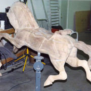 Jantzen-armored-Parker-carousel-horse-restoration-non-romance