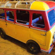 Antique-Hennecke-Auto-Carousel-bus-restored