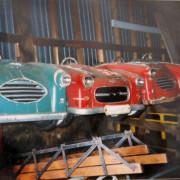 Antique-Hennecke-Auto-Carousel-cars