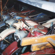 Antique-Hennecke-Auto-Carousel-motorcycles