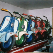 Antique-Hennecke-Auto-Carousel-scooters