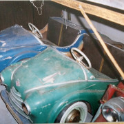 Antique-Hennecke-Auto-Carousel-sports-cars