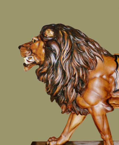 ca-1903-Looff-carousel-lion-bust