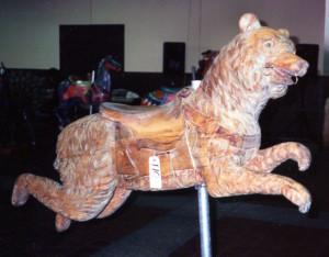 The Ca. 1902 Dentzel bear at the Dec. 1989 Guernsey's New York auction.