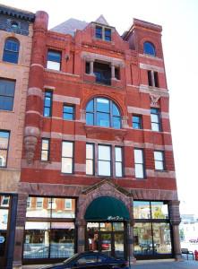 Historic 1881 E. O. Choate Department Store Building in Winona, MN.