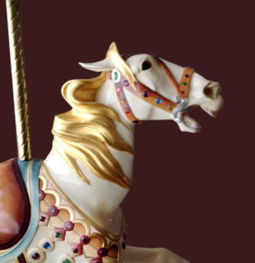 Illions-supreme-carousel-horse-bust-romance