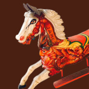 ca-1910-Anderson-Galloper-carousel-horse-james-bust