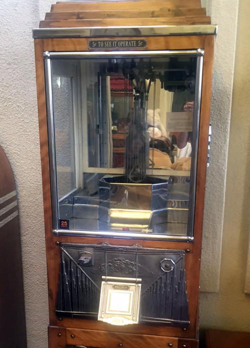 ca-1930s-Buckley-Mfg-Co-Digger-5c-coin-op