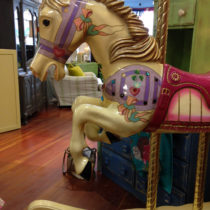 purple-rocking-horse-bust