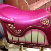 purple-rocking-horse-saddle-wear
