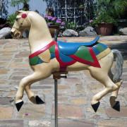 Mangels-Illions-kiddie-carousel-horse-ca-1920-50