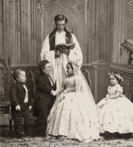 Tom-Thumb-Charles-Sherwood-Stratton-and-Lavinia-Warren-marriage