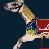 ca-1920-English-Savage-double-seat-carousel-horse