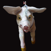 1900-Devos-carousel-pig-bust