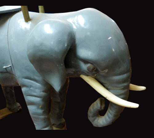 Elephant-bust