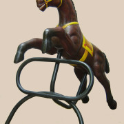 Brill-metal-carousel-horse-brown-2