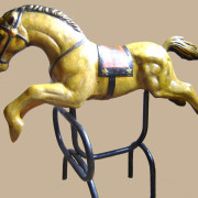 Brill-metal-carousel-horse-golden-2