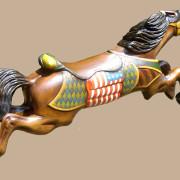 C-W-Parker-American-flag-antique-carousel-horse