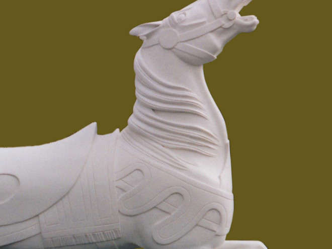 Stein-and-goldstein-carousel-horse-in-primer-bust