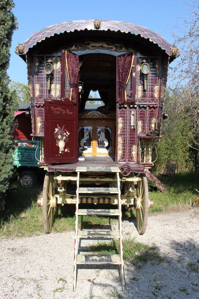 1910 Bill Wright Gypsy Wagon Sold Antiquecarousels Com
