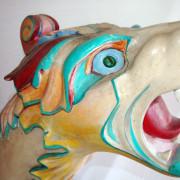 Herschell-Spillman-sea-monster-head