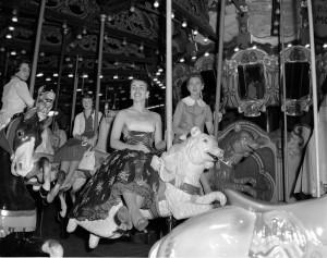 Norumbega-park-dentzel-carousel-bear-1950s