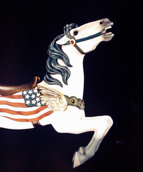 Spillman-flag-horse-bust