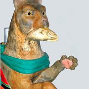 Dentzel-cat-bust