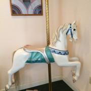 Herschell-Spillman-carousel-horse-with-stand