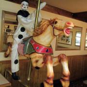 c-w-parker-flag-horse-front