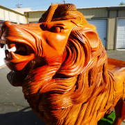 contemporary-carousel-lion-head