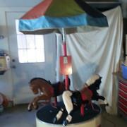 two-horse-kiddie-carousel