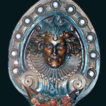 original-dentzel-deluxe-carousel-jester-shield
