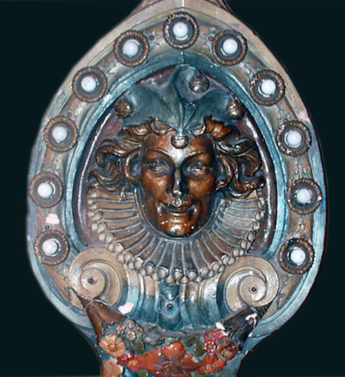 original-dentzel-deluxe-carousel-jester-shield