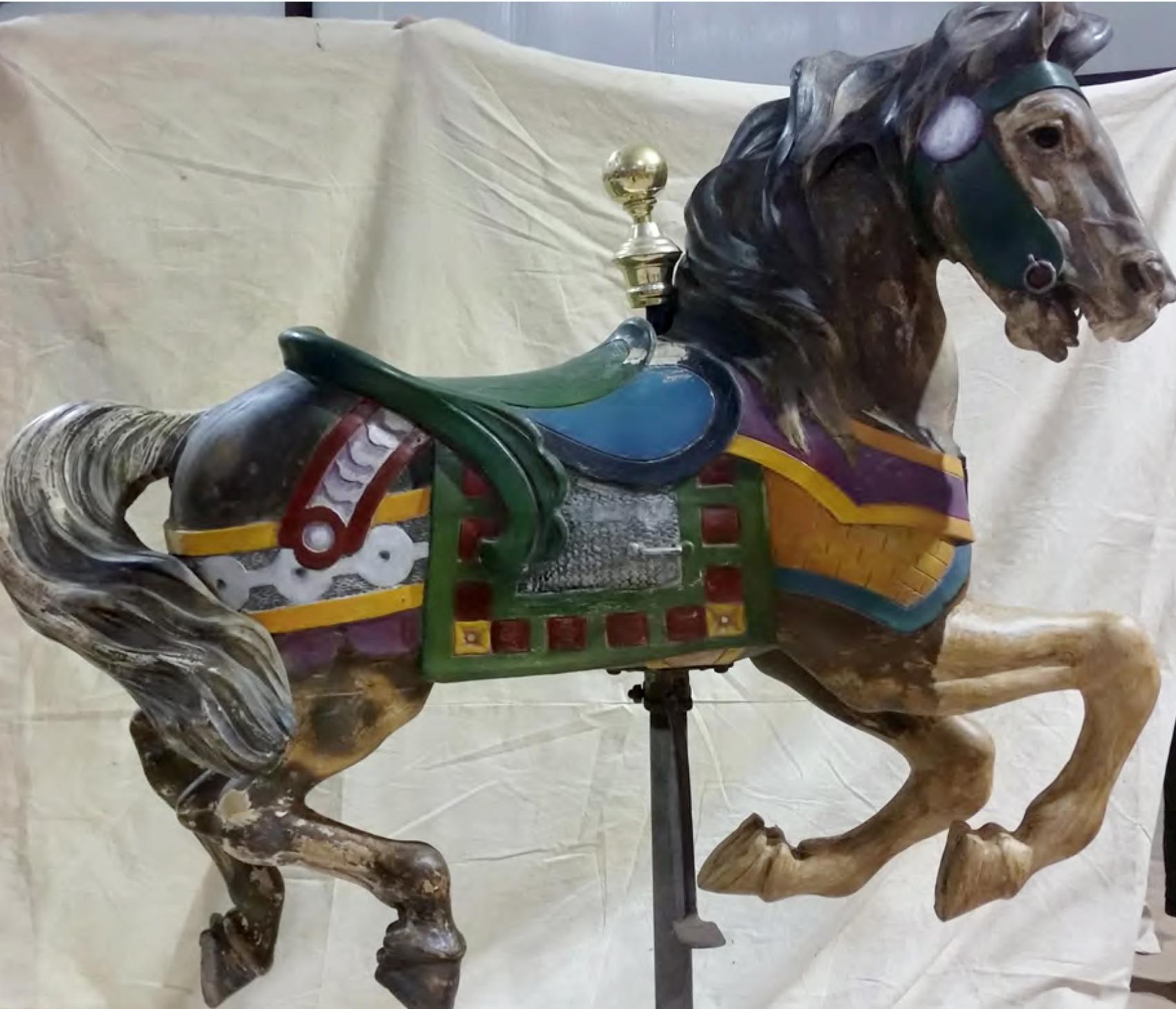 Ptc 53 Rare 1920 Grand Carousel Antiquecarousels Com