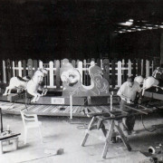c-w-parker-steam-carousel-during-restoration