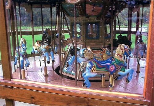 contemporary-8-horse-kiddie-mfg-carousel