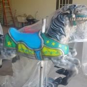 1951-Allan-Herschell-carousel-horse-newly-restored2