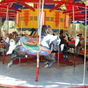 Catskill-Farm-1951-Allan-Herschell-carousel-horses