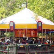 Catskill-Game-Farm-1951-Allan-Herschell-carousel-c