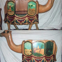 Early-1900s-European-carousel-camel-seat-1