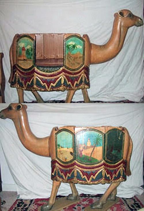 Early-1900s-European-carousel-camel-seat-1