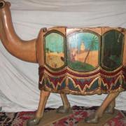 Early-1900s-European-carousel-camel-seat