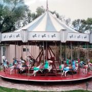 Vintage-allan-herschell-kiddie-carousel