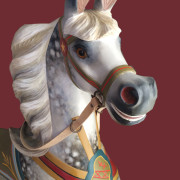 1890s-Dare-carousel-horse-restored-bust