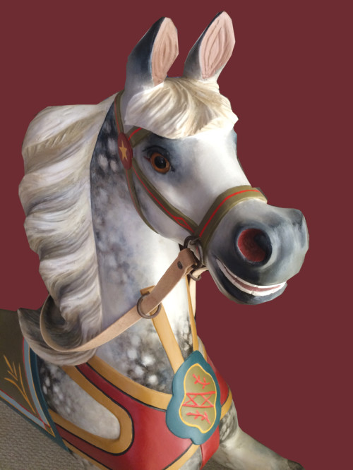 1890s-Dare-carousel-horse-restored-bust